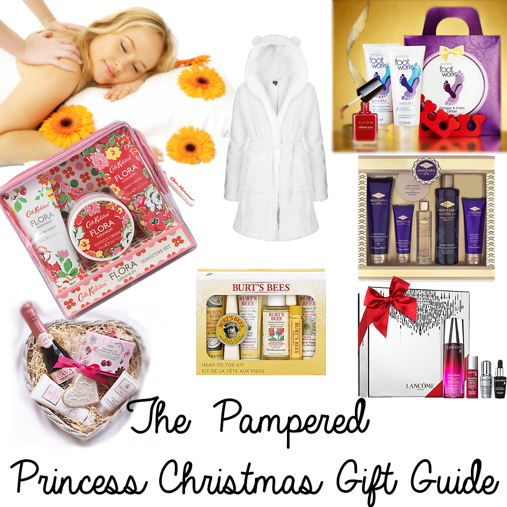 The Pampered Princess Christmas Gift Guide | Present ideas for Mum ...