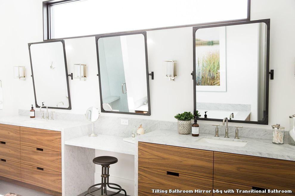 Beautiful Tilting Bathroom Mirror Bu0026q