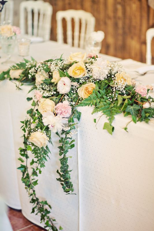 Composition Florale Table Mariage