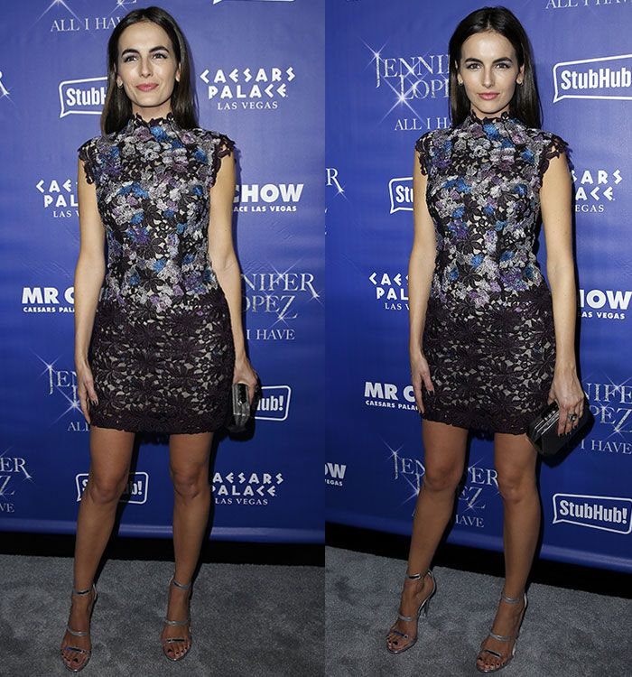 Camilla Belle at Jennifer Lopez Official After Party Red Carpet at Mr. Chow inside Caesars Palace in Las Vegas on January 20, 2016