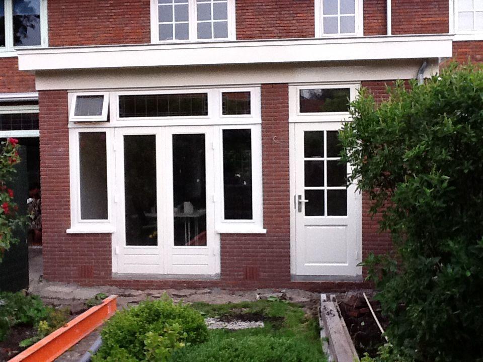 Uitbouw doors keuken for Jaren 30 stijl interieur