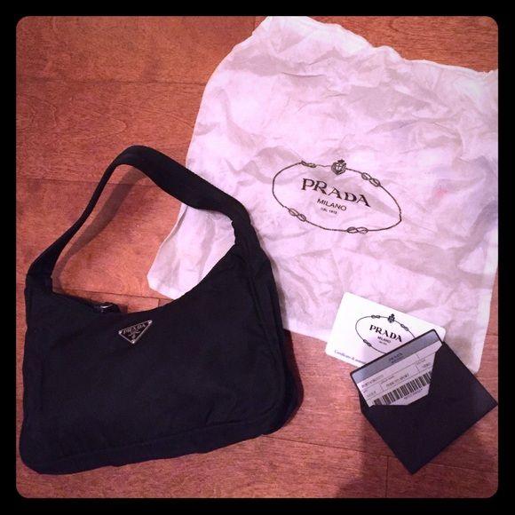 af093e58ea39c8 Prada Tessuto Sport Purse Cute little bag! Excellent condition. Nylon. 8  1/2