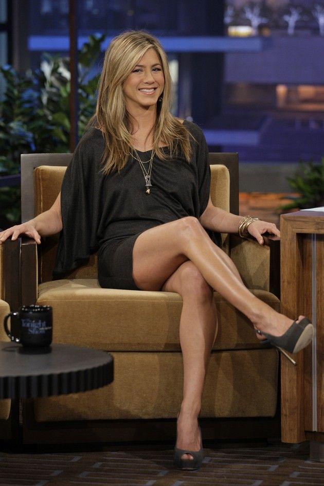 Best Celebrity Legs In High Heels Jennifer Aniston Legs