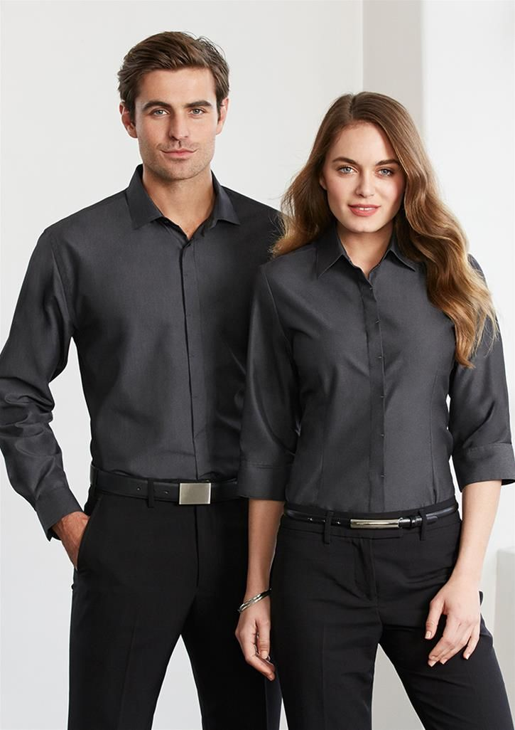 Hemingway shirt, 3 colours / Embroidery / Uniforms / Activ ...
