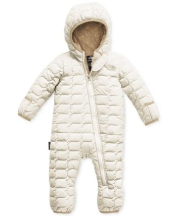 f2e674d16 The North Face Baby Boys or Baby Girls ThermoBall Coverall - White 24 months