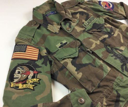 58a021d115cde Polo-Ralph-Lauren-Men-Military-M65-US-Army-Camo-American-Flag-Skull-Field- Jacket