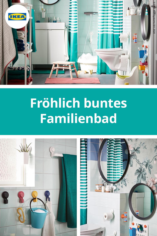 Clevere Badidee Mit Flexibler Aufbewahrung In 2020 Bad Bunt Bad Badezimmer