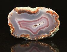 Agate from Asni, Morocco - superb colors, good contrast - moroccan agate bd48