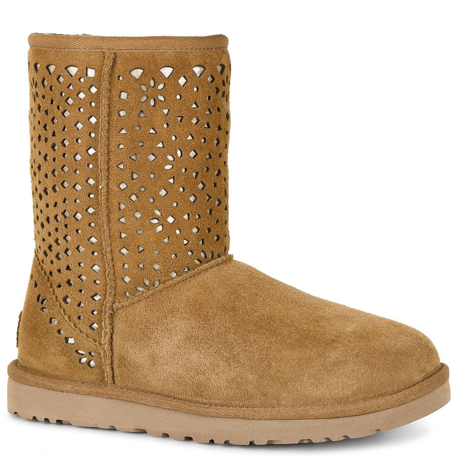 dbb7a040d38 UGG Women s Classic Short Flora Perf Boot    This is an Amazon Affiliate  link. Read more at the image link.