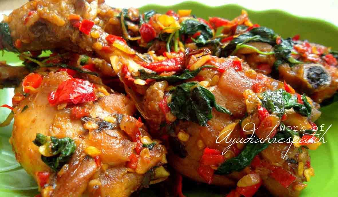 Resep Ayam Goreng Cabe Bumbu Kemangi Resep Ayam Makan Malam Makanan Pedas