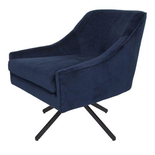 Best Ethan Swivel Chair Ink Blue In 2019 Swivel Chair 400 x 300