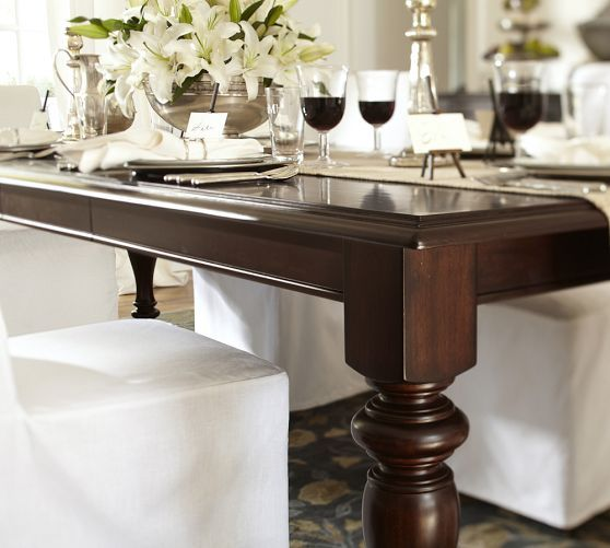 Lawton Extending Dining Table Pottery Barn For The Home - Pottery barn extension dining table
