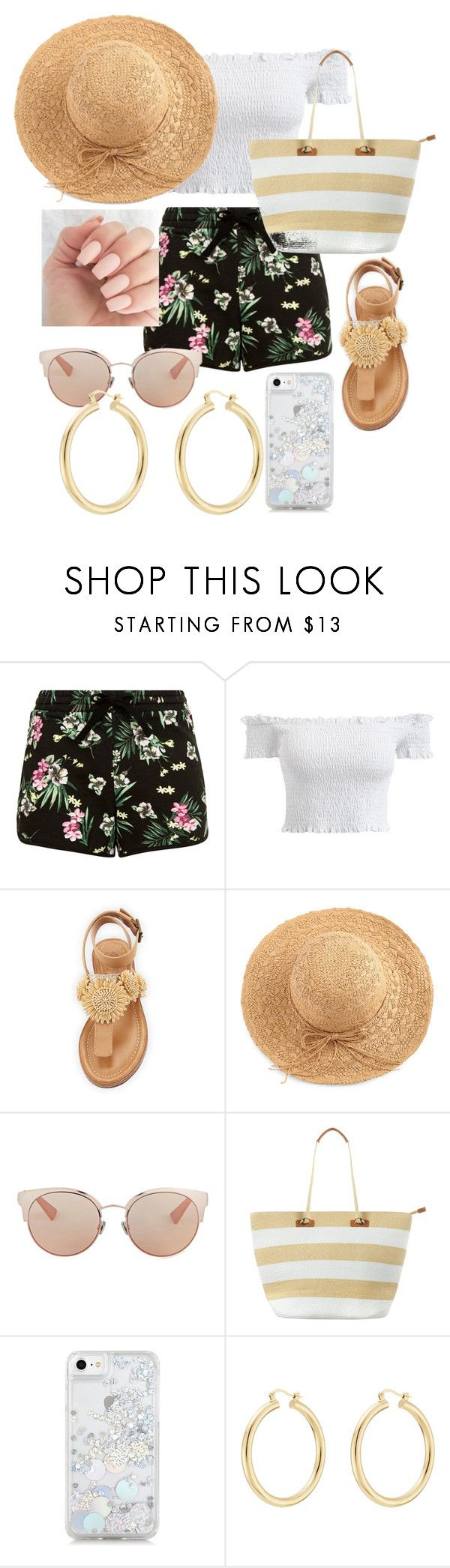 """""""Summer Outfit for Yna"""" by abbs-gaille on Polyvore featuring Bettye, WithChic, Christian Dior, Phase Eight, Skinnydip and Isabel Marant"""