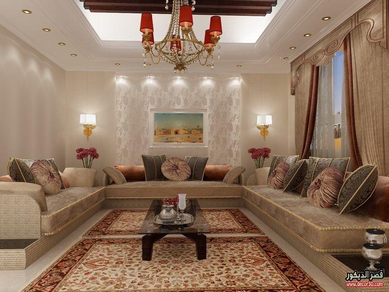 كنبات مجالس رجال ونساء فخمة مغربي وخليجي قصر الديكور Living Room Tiles Design Moroccan Living Room Living Room Tiles