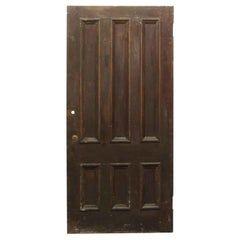 1910 Pair Of Six Raised Panel Medium Wood Tone Doors In 2020 Solid Wood Front Door Wood Front Doors Antique French Doors