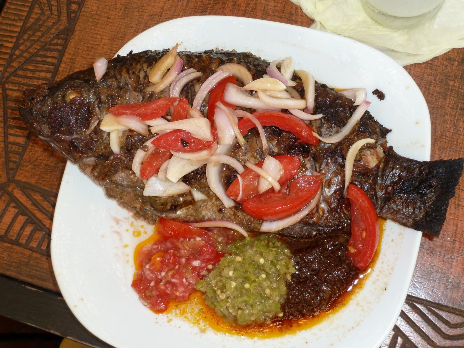 Tilapia ghana style african food pinterest for Authentic african cuisine from ghana