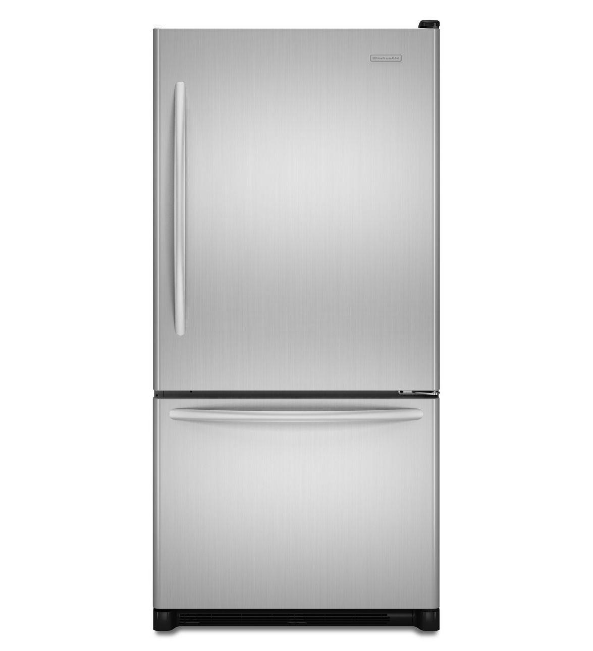 KitchenAid® 22 Cu. Ft. Standard-Depth Bottom-Freezer Refrigerator, Architect® Series II U$ 1.799,00