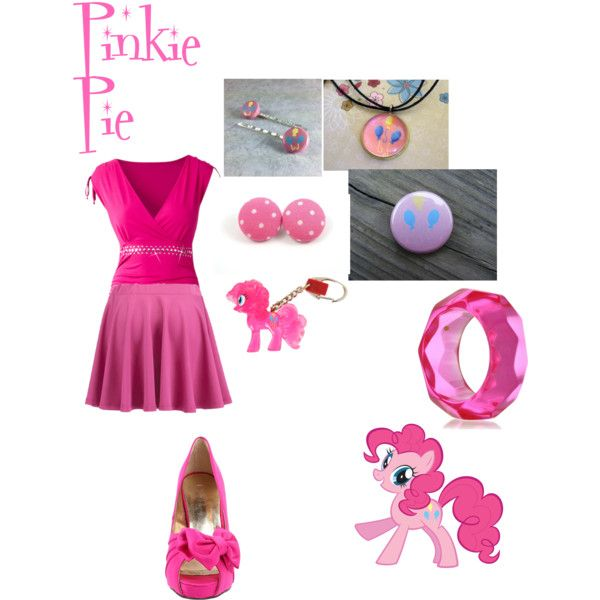 """Pinkie Pie"" by grace-buerklin on Polyvore"