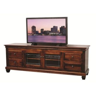 Northbrook 84 Inch Flat Screen Tv Stand Tv Consoles Furniture Made In Usa Builder75 available at Amish Oak and Cherry