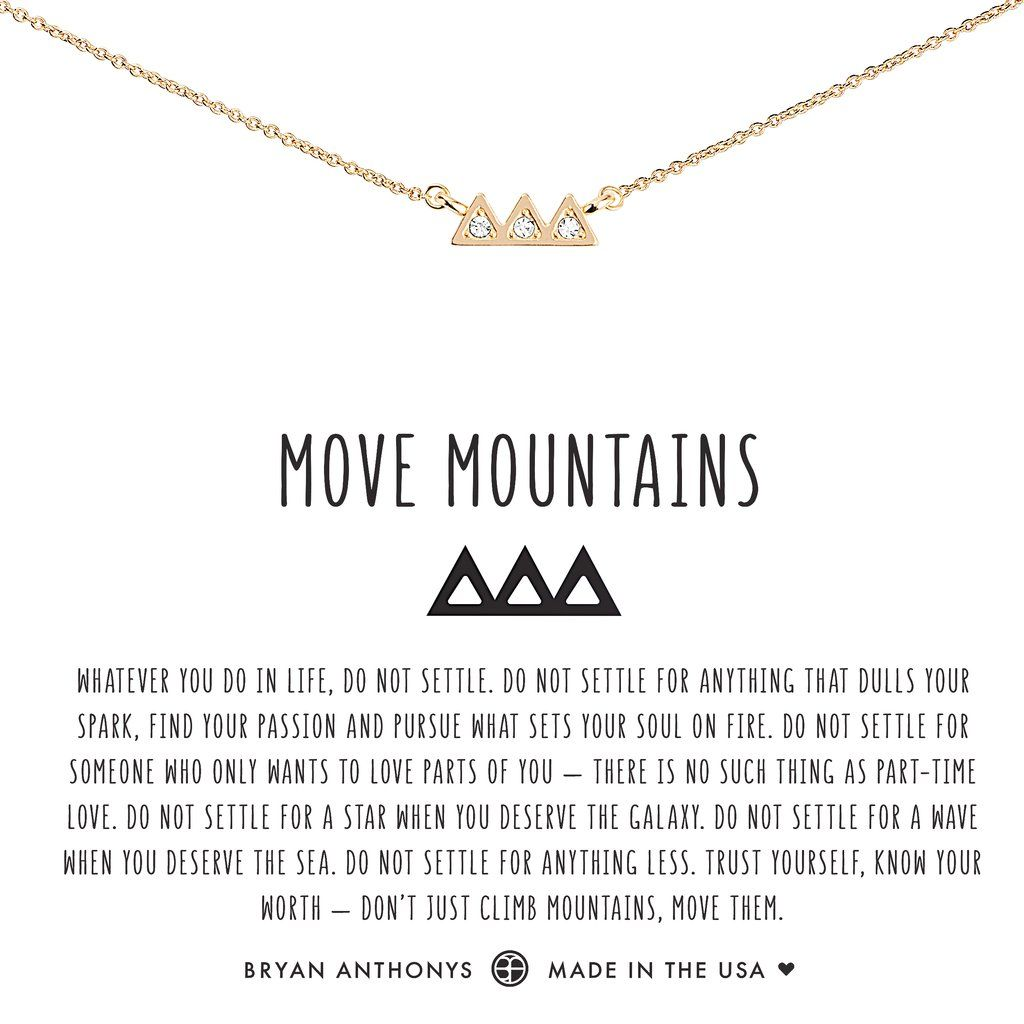 7dfc046d6 Move Mountains Necklace in 2019 | BRYAN ANTHONYS JEWELS | Jewelry ...
