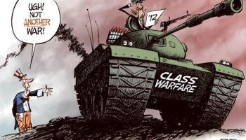 A guerra mundial entre classes e não entre nações.
