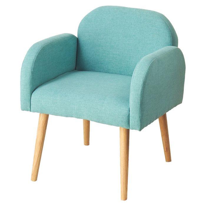 Best Lacie Arm Chair Elderflower Court On Joss Main Blue 400 x 300