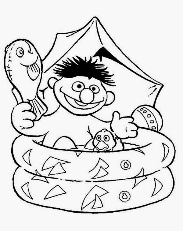 Pin by Gina Ross on Coloring Pages - Sesame Street | Pinterest ...