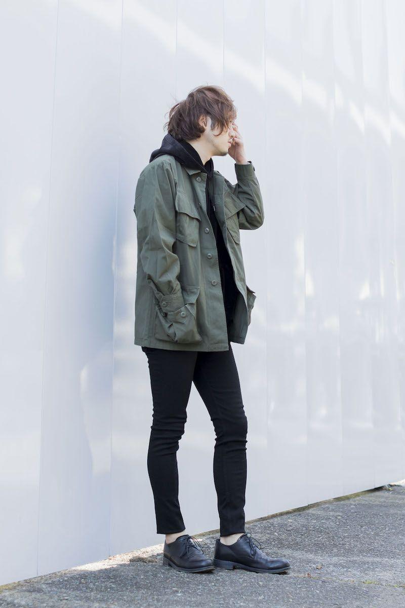 20170312 装飾性のある ミリタリーアウター 是非脱ノームコアの参考に brand sessler セスラー item ジャングルファティーグ後期型 ジャケット price 5 000円 size s r yライン メンズファッション ミリタリージャケット コーデ メンズ シンプル ファッション メンズ