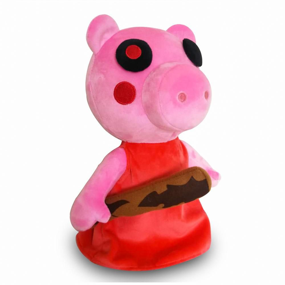 Roblox Piggy Plush Toy Pink Plushie Gifts For Halloween In 2020 Roblox Plush Plush Toy Plushies