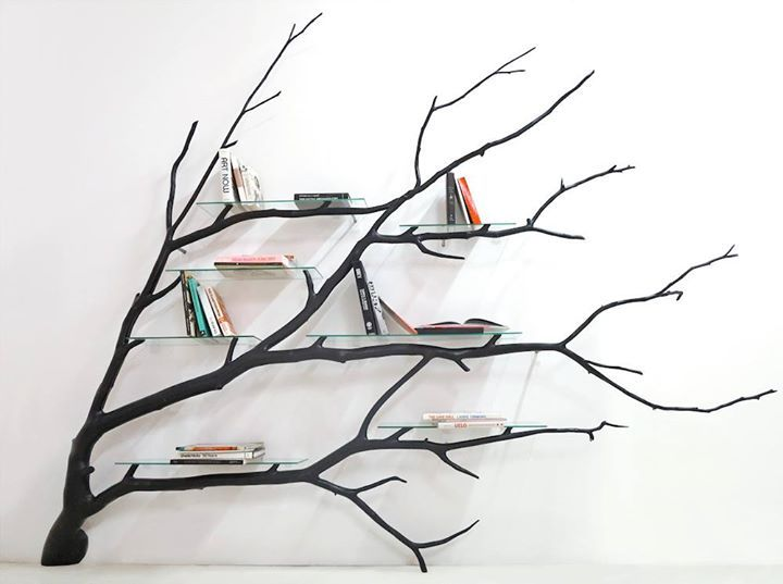 Functional Shelves and Tables Built From Fallen South American Trees http://ift.tt/1P03Hlq
