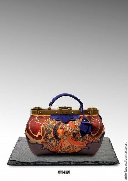 6cd8986a2c69 Женские сумки ручной работы. Ярмарка Мастеров - ручная работа. Купить  Саквояж