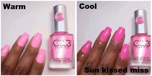 Color Club Heat Index Color Changing Mood Nail Polish Beauty