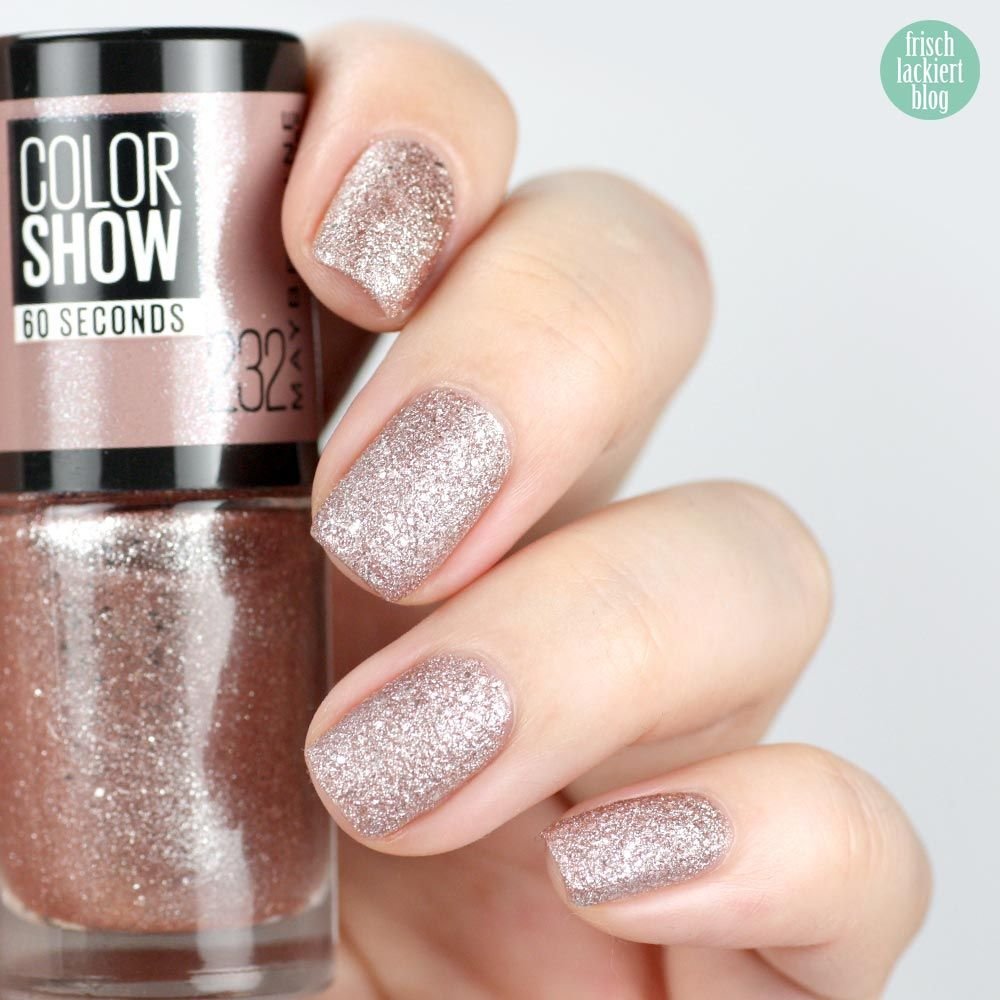Maybelline ColorShow – 232 Rose Chic – swatch by frischlackiert ...