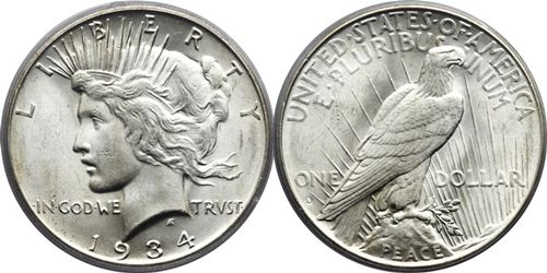 how to grade peace silver dollars peace dollar grading pictures