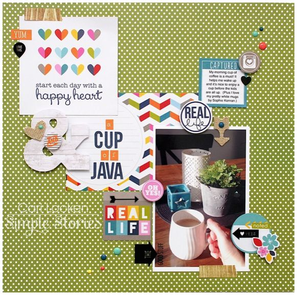 Cup of Java - Scrapbook.com