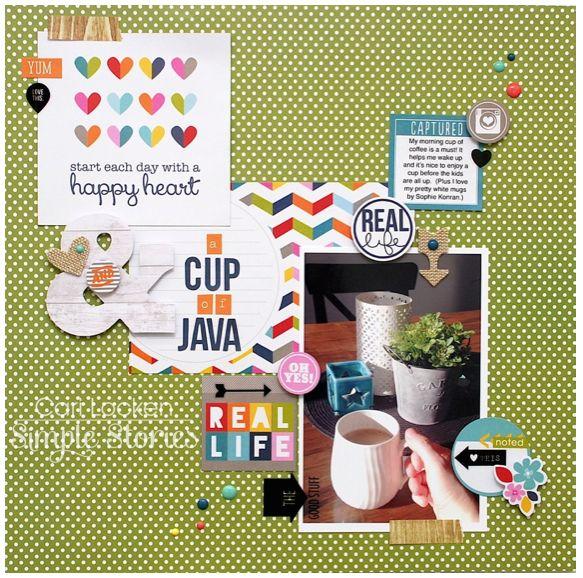 Cup of Java - Scrapbook.com
