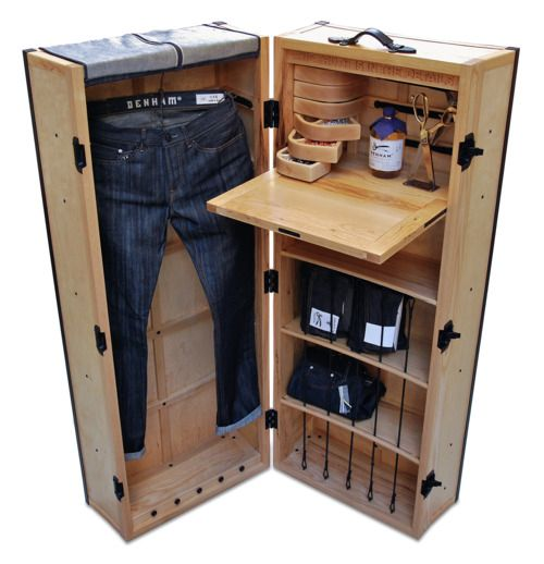 The journeyman steamer trunk essentials pinterest - Accesorios para decoracion de interiores ...
