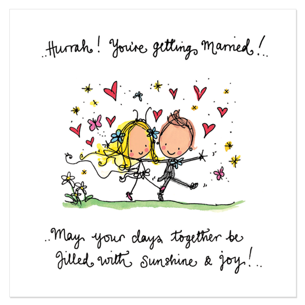 Hurrah You Re Getting Married Happy Wedding Quotes Happy Birthday Love Quotes Getting Married Quotes