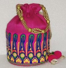 Pink colour  Designer Clutches : Navishka Collection -  YF-43130