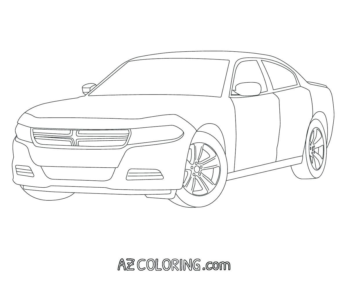 dodge charger coloring page Free http://www ...