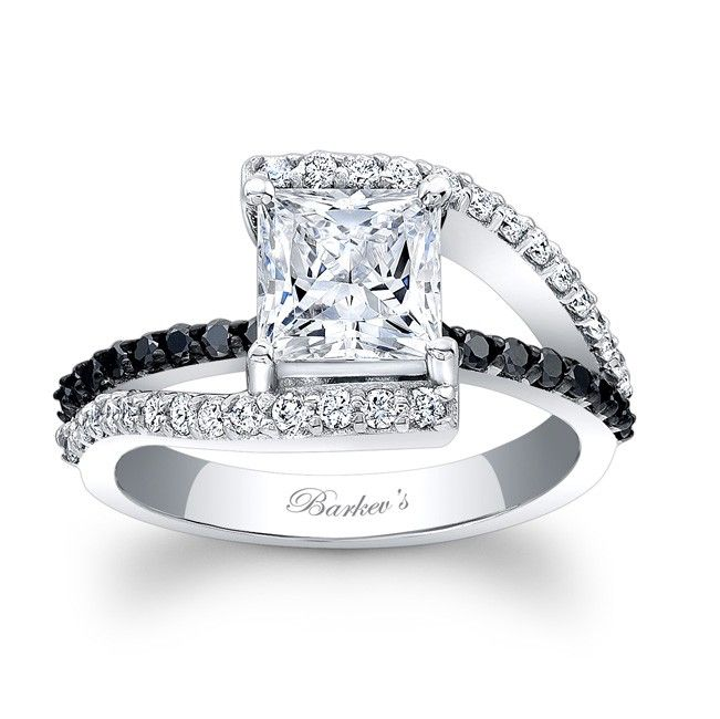 black diamond engagement ring this is the ring i want omg so gorgeous - Wedding Rings With Black Diamonds