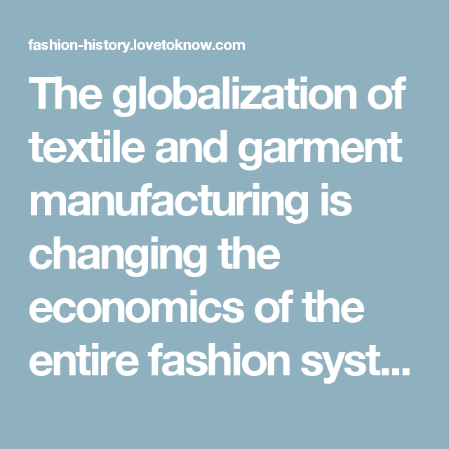 The globalization of textile and garment manufacturing is changing the economics of the entire fashion system, but the couture, which really exists only in Paris, retains its prestige and helps to drive an array of luxury goods from perfume to handbags and ready-to-wear lines. Continuing a tradition established many years ago by the Englishman Charles Frederick Worth and the Italian Elsa Schiaparelli, many of the most influential designers in Paris (such as Karl Lagerfeld and John Galliano)…