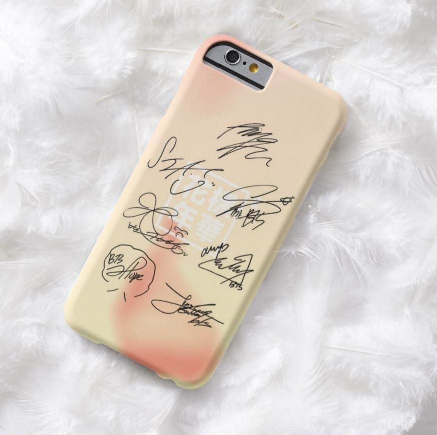 BTS In The Mood For Love 2 2 iphone case
