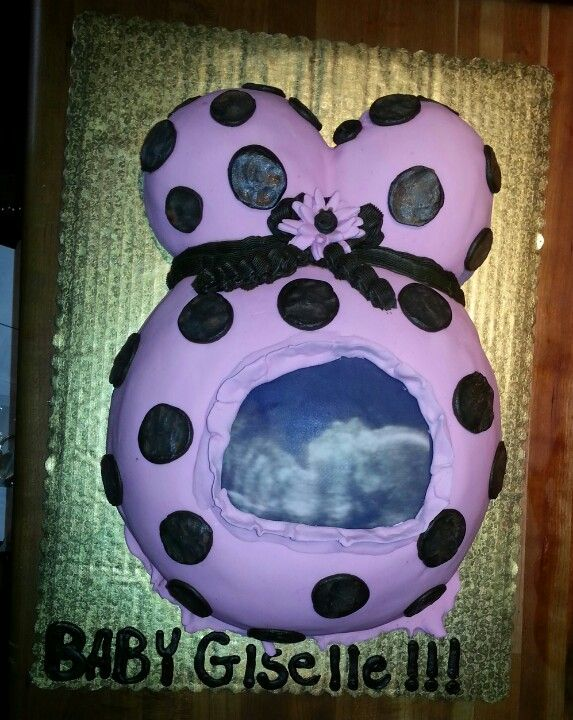 Baby Shower Cake W Baby Ultrasound Baby Pinterest Baby Shower
