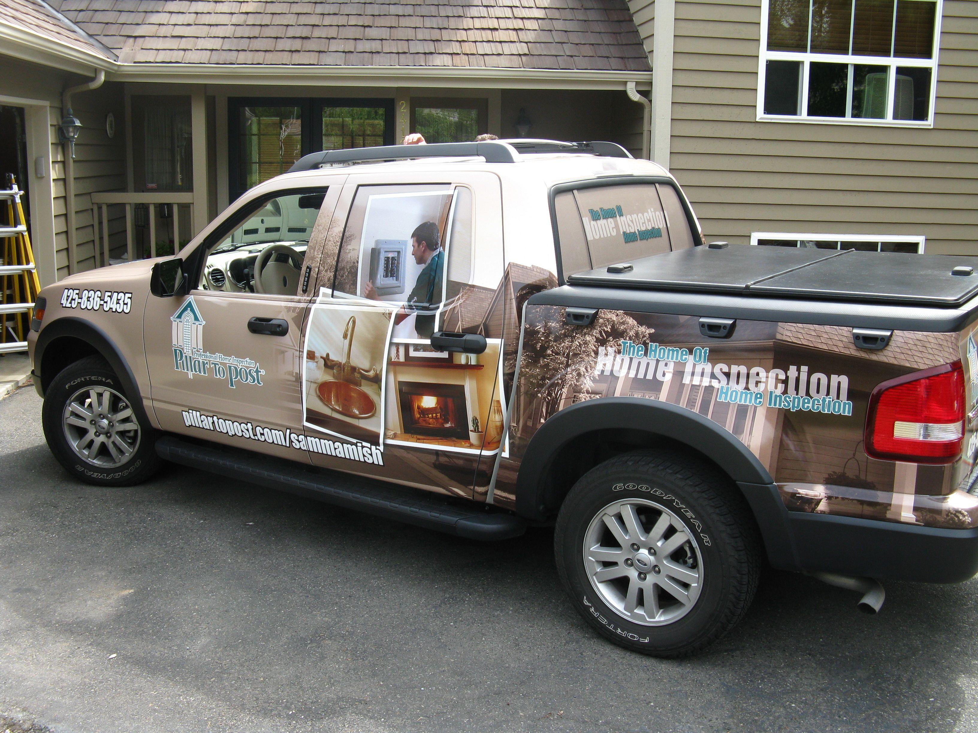 Truck Wraps Seattle Custom Vinyl Truck Graphics Wraps Car