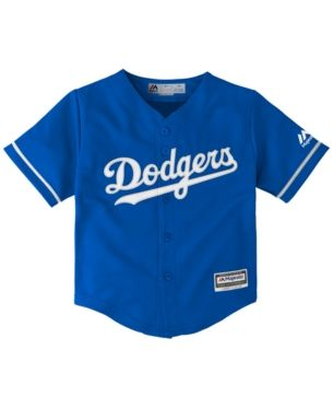 463a97f2 Majestic Toddlers' Los Angeles Dodgers Replica Cool Base Jersey - RoyalBlue  3T