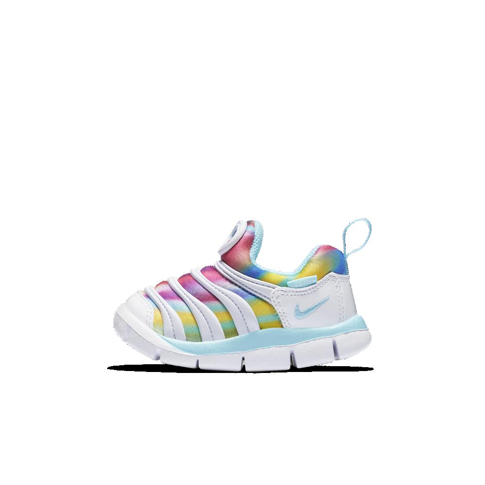 Nike Dynamo Free Print Infant/Toddler Shoe Size 10C (White)
