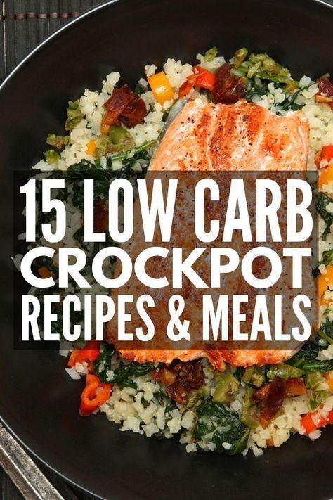 15 Keto Crock Pot Recipes for Weight Loss | 15 healthy and simple low carb slow cooker recipes for easy dinners that taste good! Whether you prefer meat-heavy meals, like chicken, beef, or pork, or need dairy free vegetarian ideas that are actually filling, these clean-eating options will help you lose weight without feeling deprived.