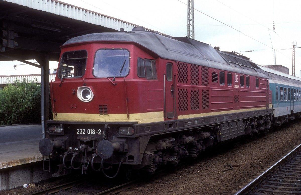 232 018 DB Magdeburg, Bilder, Deutsche bahn