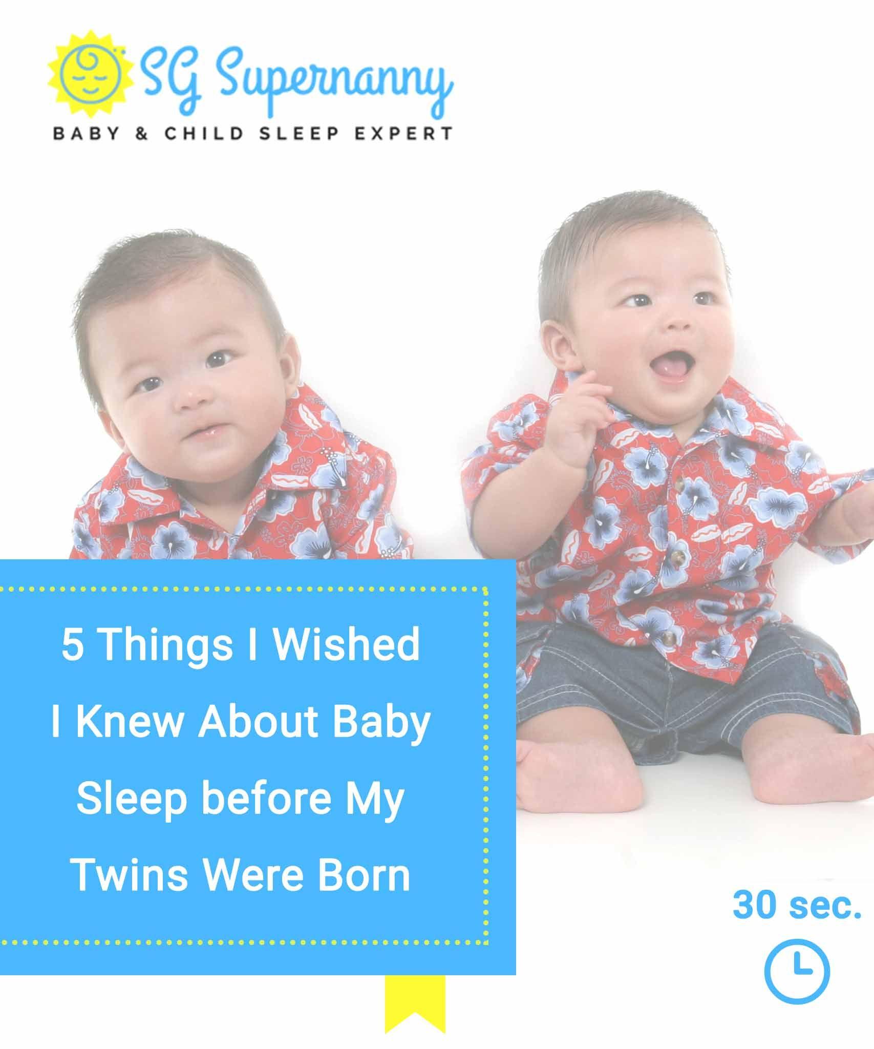 5 Things I Wished I Knew About Baby Sleep | Baby sleeping ...